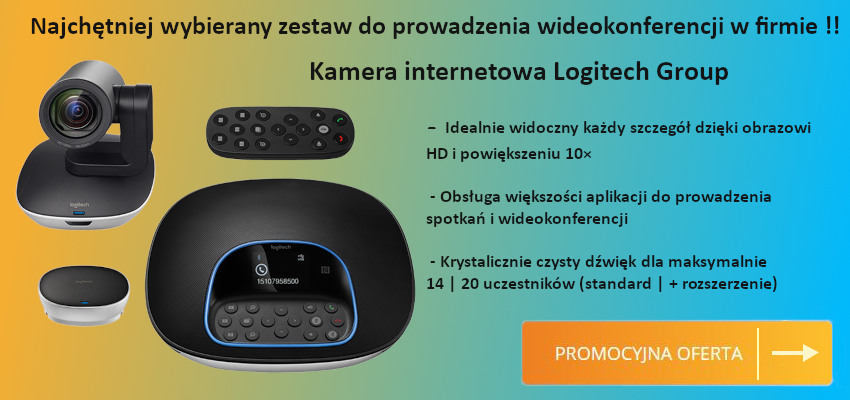 Kamera internetowa logitech group 960-001057
