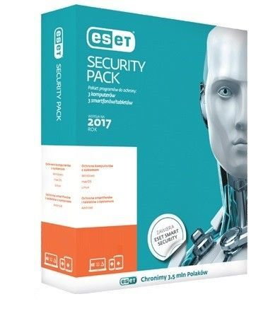 ESET Security Pack Box 1+1 1Y PL    ESP-N-1Y-2D