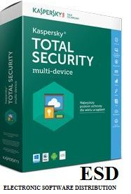 Kaspersky ESD Total Security Multi-Device 2Dvc 2Y KL1919PCBDR