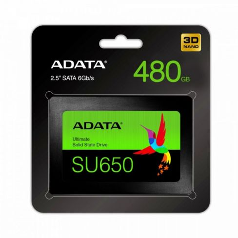 Adata Dysk SSD Ultimate SU650 480G 2.5 S3 3D TLC Retail