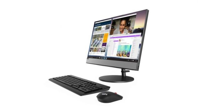 Lenovo AiO V530-22ICB 10US005PPB W10Pro i5-8400T/8GB/256GB/INT/DVD/21.5 Black/Touch/3YRS OS