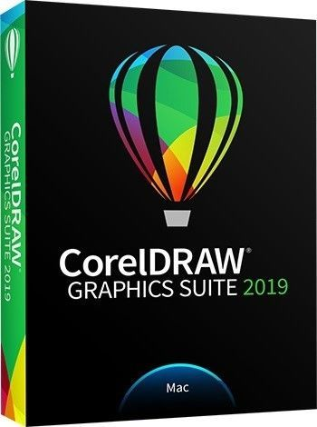 CorelDRAW GS 2019 PL/EN/DE/ES/FR/NL/IT/BP Box  MAC CDGS2019MMLDPEU