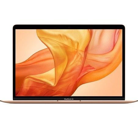 "Laptop Apple MacBook Air: 13,3"" i3 8GB 256GB Iris Plus Mac OS Gold"