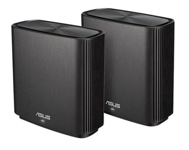 Asus System WiFi ZenWiFi CT8 AC3000 2-pack Black