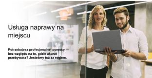 Rozszerzenie gwarancji TOSHIBA 3 lata on-site Next Business Day HDD Retention