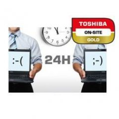 Rozszerzenie gwarancji TOSHIBA 4 lata on-site Next Business Day HDD Retention